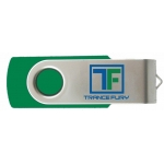 "2 GB USB Thumb Drive w/ Trance Fury Logo incl. ""The Other Sides of Trance"" Mp3 album!"