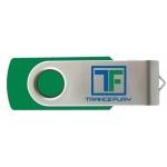 2 GB USB Thumb Drive w/ Trance Fury Logo